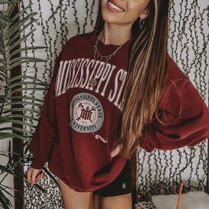 Vintage College Sweatshirt Crewneck